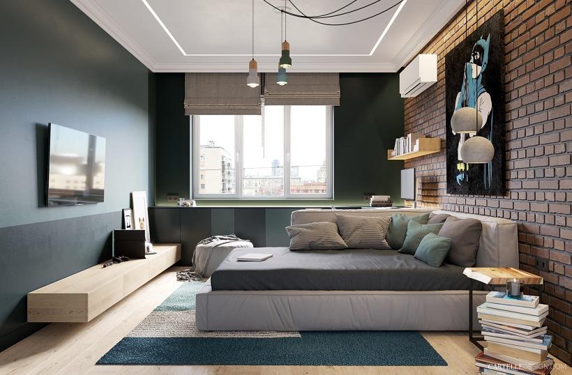 Decoracion cuartos adolescentes hombres decorar dormitorio for Disenos de cuartos para hombre