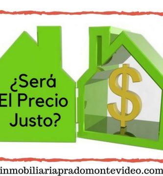 Precio de una propiedad en uruguay