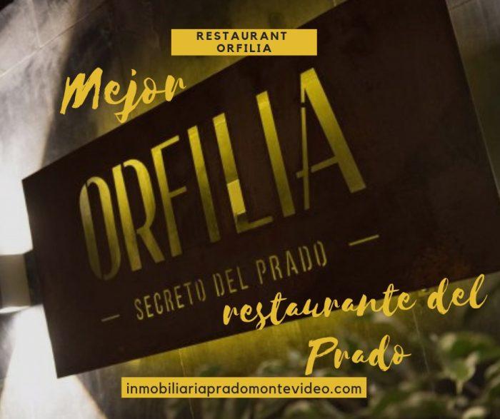 restaurant orfilia