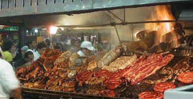 mercado del puerto asado