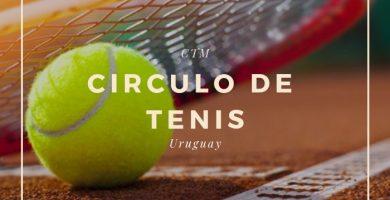 circulo de tenis