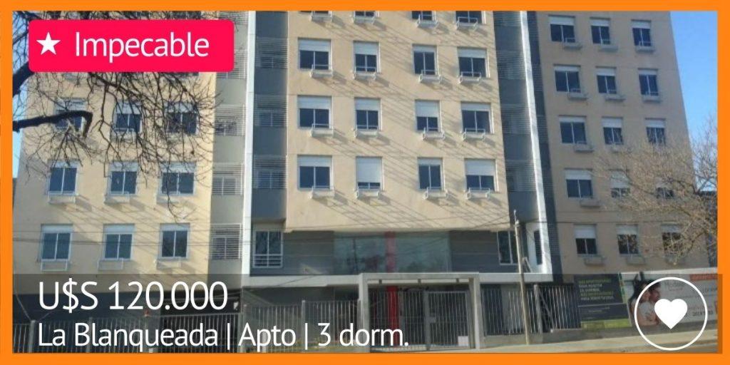 apartamentos en venta en la blanqueada edificio torre modelo