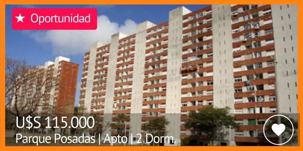 venta de apartamentos 2 dormitorios en parque posadas complejo